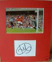 William Gallas signed & mounted 12 x 10 Arsenal COA