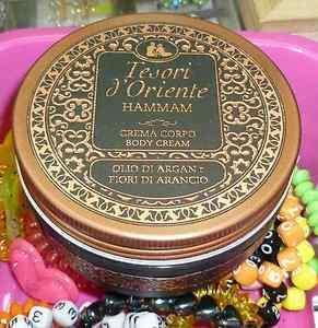 Tesori dOriente crema corpo body cream Hammam allolio di Argan 300