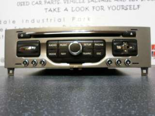 Peugeot 308 Cd Player Stereo 2010