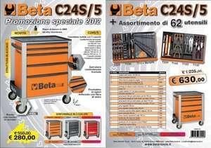 CARRELLO BETA UTENSILI TOOLS C24S/5 NOVITA 2010