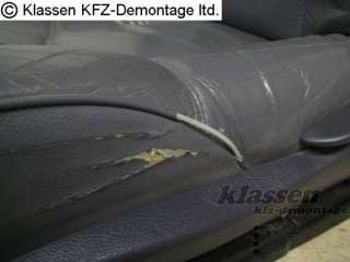 Sitz Ledersitz links Fahrersitz Renault Espace III 3