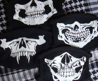 TATTICA TESCHIO NERA SOFTAIR SCHELETRO SEALS BANDANA SCI BIKERS HORROR