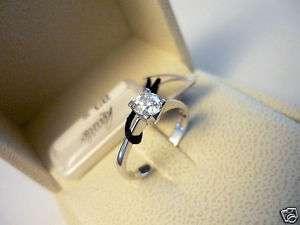 Anello Recarlo oro bianco diamante solitario Ct 0,514