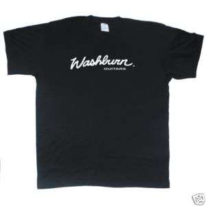WASHBURN GUITARS new black T SHIRT all sizes