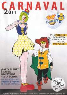 CATALOGO DISFRACES CARNAVAL 2011   TOY PLANET