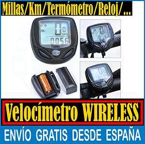 Velocimetro Wireless para Bicicleta Cuentakilometros Inalambrico