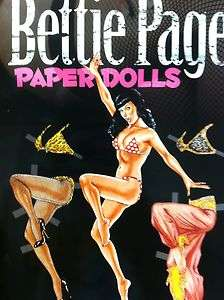 Paper Doll Dolls Book Bettie Page Centerfold NEW