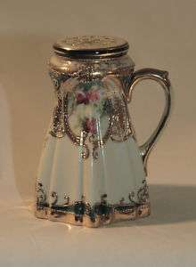C1900 Nippon Porcelain Hand Painted Caster Sugar Shaker