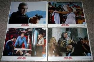 1983 Never Say Never Again Lobby Set   Sean Connery