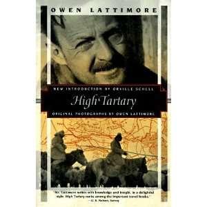 com High Tartary (Kodansha Globe) [Paperback] Owen Lattimore Books