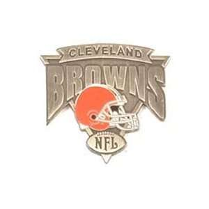 NFL Pin   Cleveland Browns Antique Triangle Pin Sports