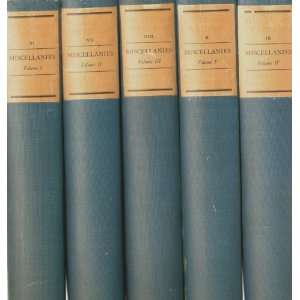 Plutarchs Lives and Writings, Five Volume set) Plutarch, A.H. Clough