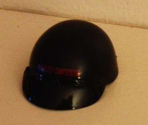 Motorcycle Helmet with HARLEY DAVIDSON Logo for KEN DOLL   MINT