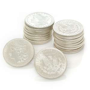 Random Date and Mint Mark Morgan Silver Dollar 20 Coin Roll at HSN