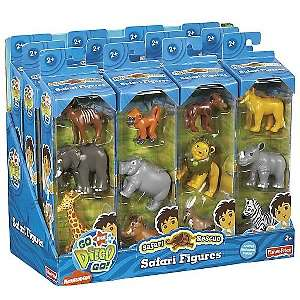 Go Diego Go Safari Rescue Animal Figures Case at HSN