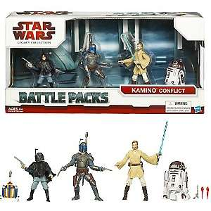 Star Wars Kamino Conflict Action Figure Battle Pack