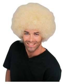 Blonde Afro Wig Adult  Wigs Afros Hats, Wigs & Masks for Halloween