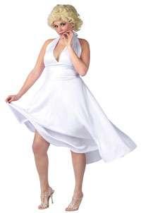 Plus Size Deluxe Marilyn Monroe Costume   Marilyn Monroe Costumes