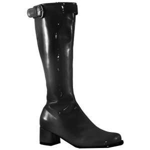 Hippie Gogo Boots (Black) Adult , 61267