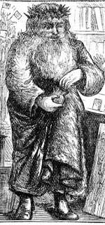 Victorian Father Christmas aka Santa Claus