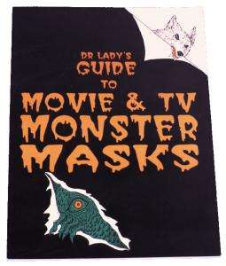 Dr Ladys Monster Mask Book   Decorations & Props