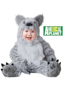 Animal Planet Gray Wolf Infant Costume for Halloween   Pure Costumes