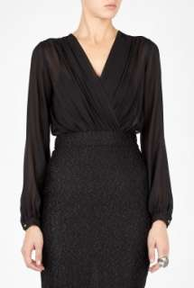 Agence  Long Sleeve Combo Dress by LAgence