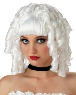 White Doll Ghost Wig   Halloween Costume Wigs   15MR177163