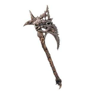 Chaos Axe Prop   Chaos Axe   The most bizarre, skeletal axe youll