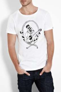 Question Of  White Dead Sailor O Neck T Shirt by A Question of