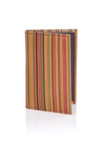 Paul Smith Accessories  Vintage Multi Stripe Card Wallet by Paul