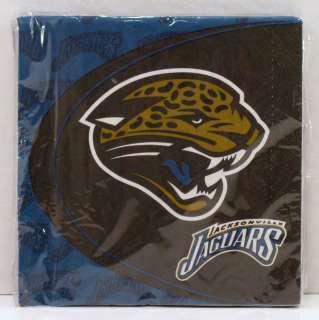 Hallmark Jacksonville Jaguars NFL Football Party Pack 16 Luncheon