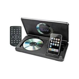 iLuv i1166 8.9 Inch Portable Multimedia/DVD Player with Dock for iPod
