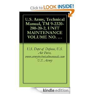 Army, Technical Manual, TM 9 2320 280 20 2, UNIT MAINTENANCE