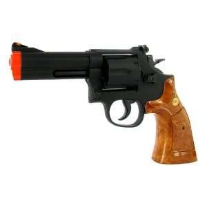 Inch Barrel Magnum Revolver Pistol FPS 300 Wood Grip Airsoft Gun