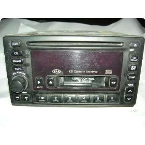 Radio  SPORTAGE 01 02 receiver, AM FM stereo cassette, w/CD player