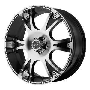 American Racing Dagger 20x8.5 Machined Black Wheel / Rim 5x5.5 with a