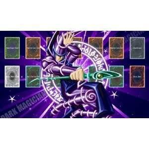 Dark Magician 2 Yugioh Playmats Custom Made Playmat Play