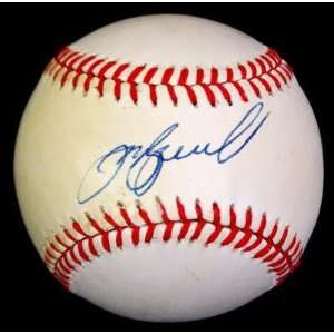 Jeff Bagwell Signed Ball   Onl Jsa #g62963   Autographed
