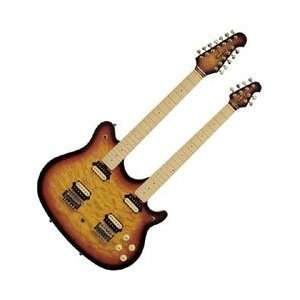 MM612 Solid Body Electric Guitar Tobacco Sunburst Musical Instruments