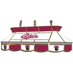 Montana Grizzlies Stained Glass Pool Table Light