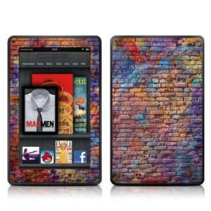 Painted Brick Design Protective Decal Skin Sticker   Matte