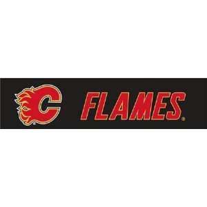 Calgary Flames NHL Steering Wheel Cover Automotive
