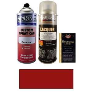 12.5 Oz. Firemist Red Metallic Spray Can Paint Kit for 2001 Mercedes