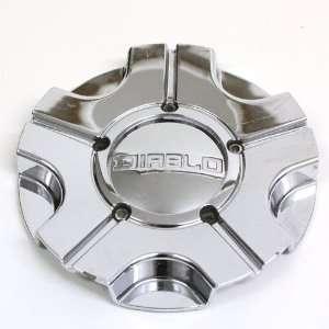 Diablo Wheels Chrome Center Cap #Ncd0005 Automotive