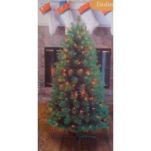 feet Pine Christmas Tree 308 Tips 100 Multi Color Lights