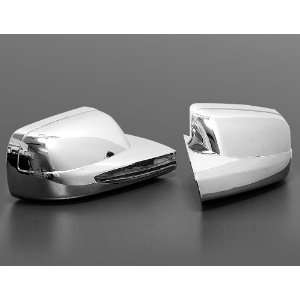 com Automotive Chrome Mirror Cover Trim without LED Turn Signals Side