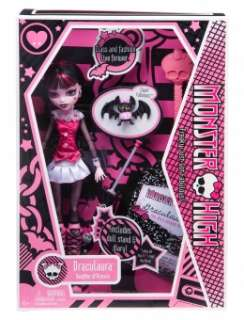 Justice   Monster High Draculaura Doll