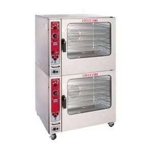 DOUBLE Double Deck Electric Convection Oven  208 Volt, Standard Depth