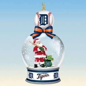 Detroit Tigers Snow Globe Ornaments